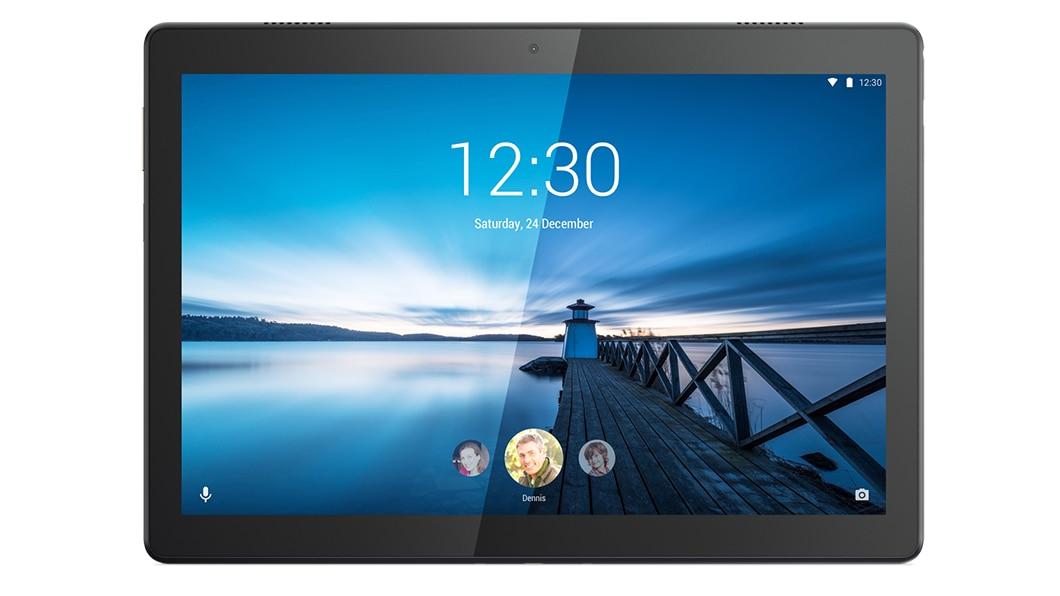 """Lenovo Tab M10 25.6 cm (10.1"""") Qualcomm Snapdragon 3 GB 32 GB Wi-Fi 5 (802.11ac) 4G LTE Black Android 8.1 Oreo"""