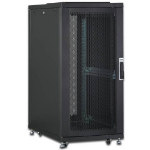 Digitus DN-19 SRV-26U-B-1 rack cabinet Freestanding rack Black