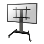 "Newstar Mobile Motorised TV/LFD Trolley for 42""-100"" screen, Height Adjustable - Silver"