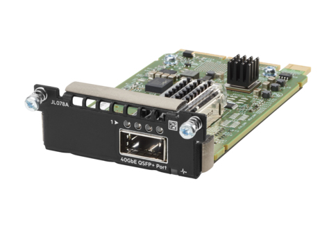 Hewlett Packard Enterprise Aruba 3810M 1QSFP+ 40GbE Module network switch module