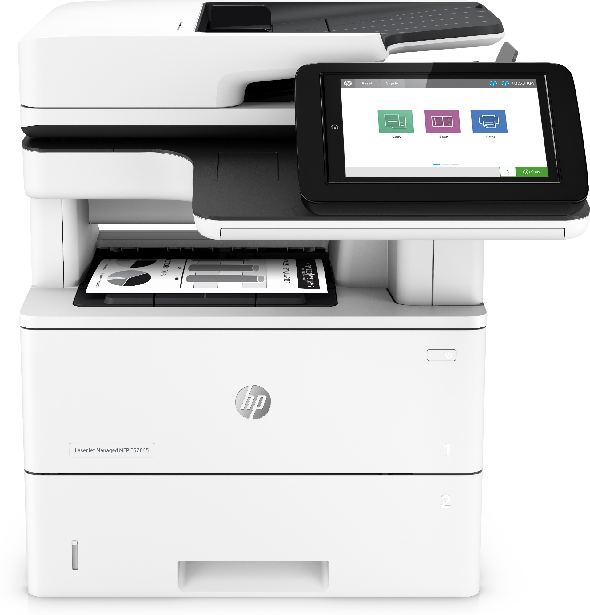 HP LaserJet Managed MFP E52645dn 1PS54A#B19