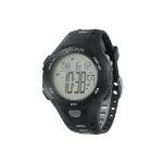 SOLEUS Contender Water Resistant Running/Training Fitness Watch Black/Grey