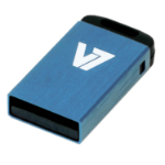V7 Nano USB 2.0 8GB USB flash drive USB Type-A Blauw