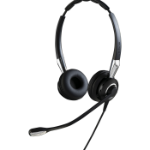 Jabra BIZ 2400 II QD Duo NC WideBand Headset Head-band Black
