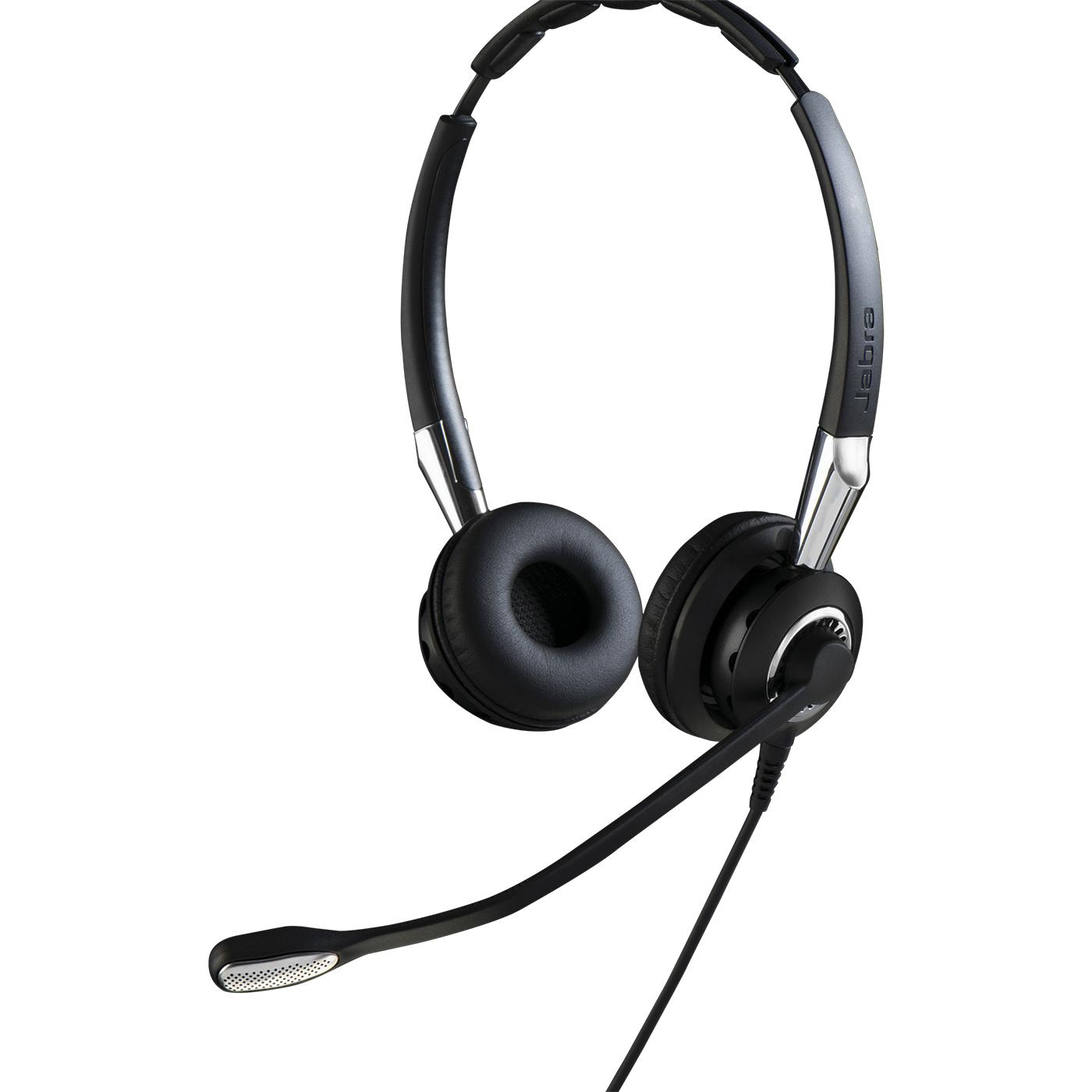 Jabra BIZ 2400 II QD Duo NC WideBand Binaural Head-band Black headset