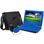 "Ematic EPD909 Convertible 9"" 640 x 234pixels Blue"
