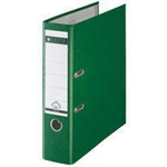 Leitz 180° Plastic Lever Arch File Green folder