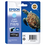 Epson C13T15754010 (T1575) Ink cartridge bright cyan, 26ml