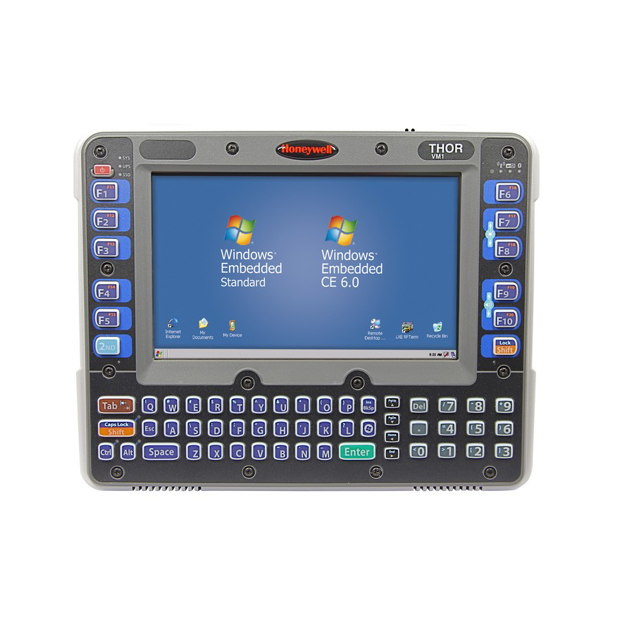 "Honeywell Thor VM1 20,3 cm (8"") Intel Atom® 1 GB 802.11g Negro, Gris Windows CE"