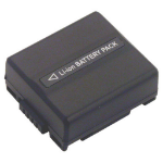 2-Power Camcorder Battery 7.2V 720mAh