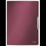 Leitz Style 3-Flap Polypropylene (PP) Red A4