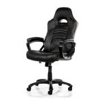 Arozzi Black Enzo Adjustable Ergonomic Motorsports Inspired Desk Chair