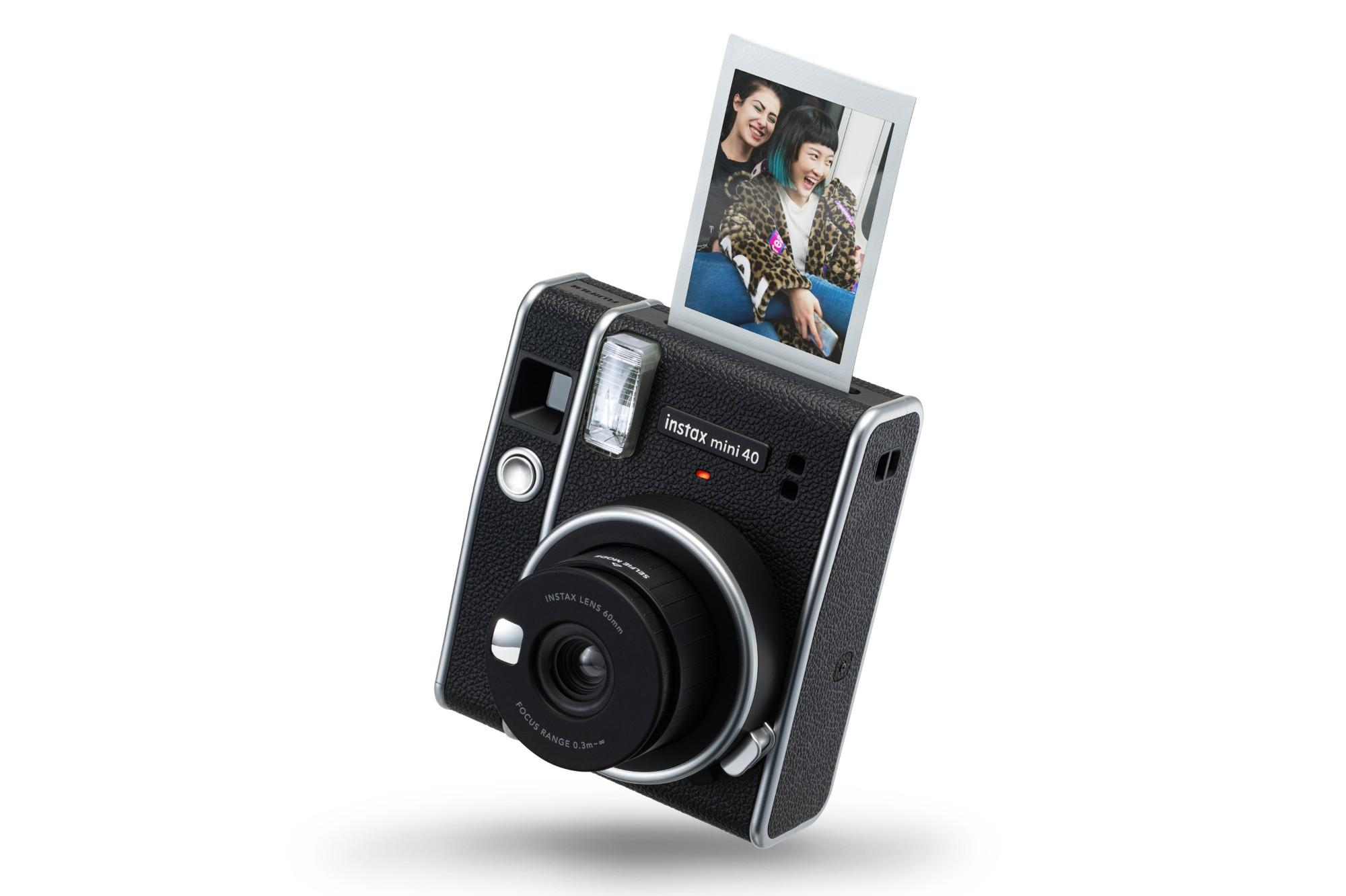 Fujifilm Instax Mini 40 Instant Camera (10 Shots) - Black