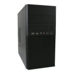 LC-Power 2004MB computer case Micro-Tower Black