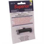 Stewart Superior INK ROLLER CALCULATOR IR74 BLACK SPR74