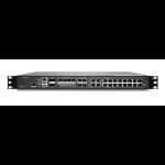 SonicWall NSA 6700 hardware firewall 1U 36000 Mbit/s