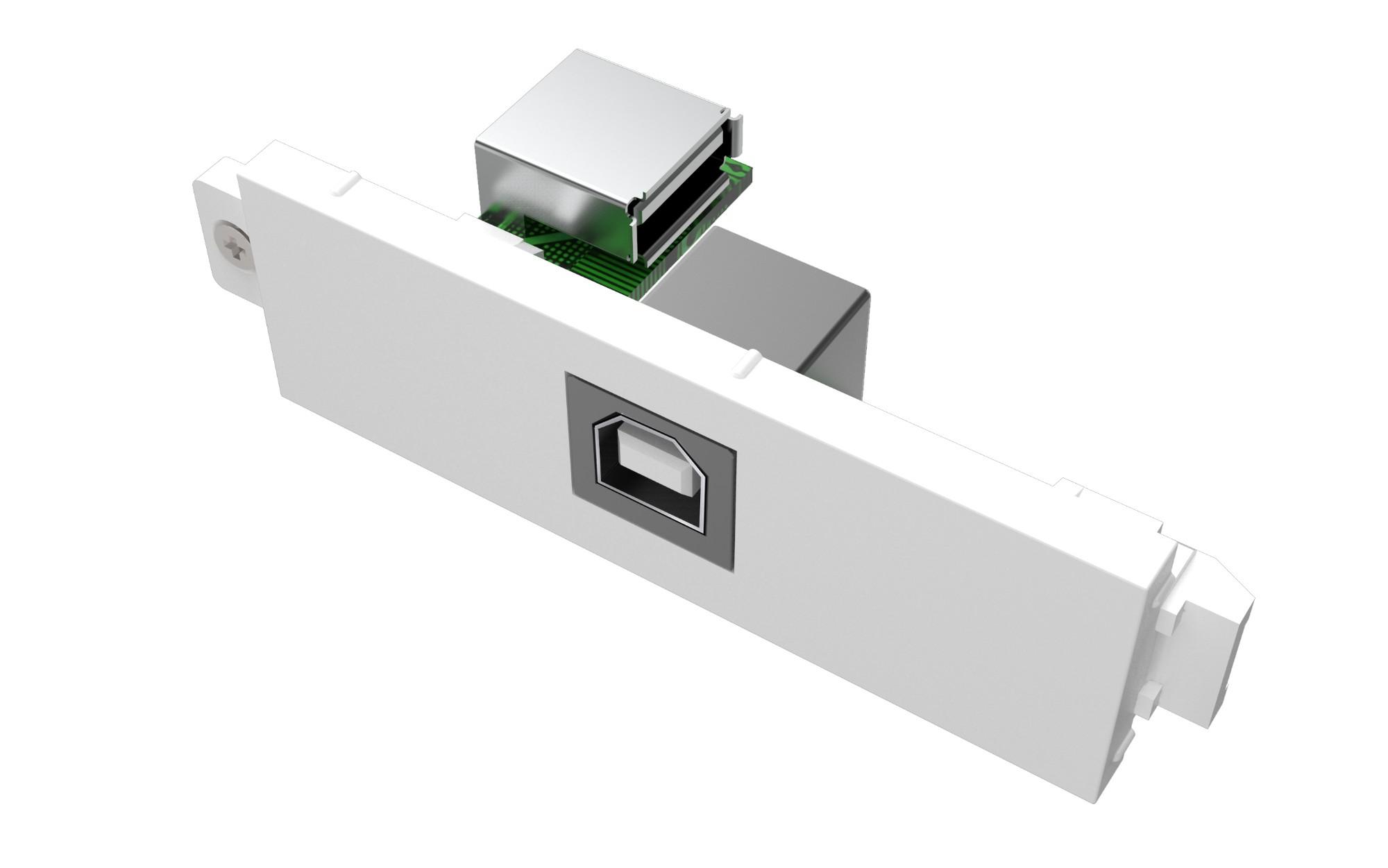 Vision TC3 USBB toma de corriente USB Blanco