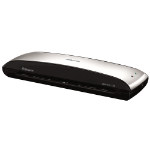 Fellowes Spectra 125 Hot laminator 304mm/min Black,Silver