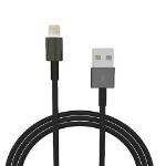 "4XEM 4XLIGHTNINGBK lightning cable 35.8"" (0.91 m) Black"