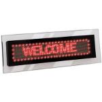 QUARTET LED ACRYLIC SCROLLING SIGN