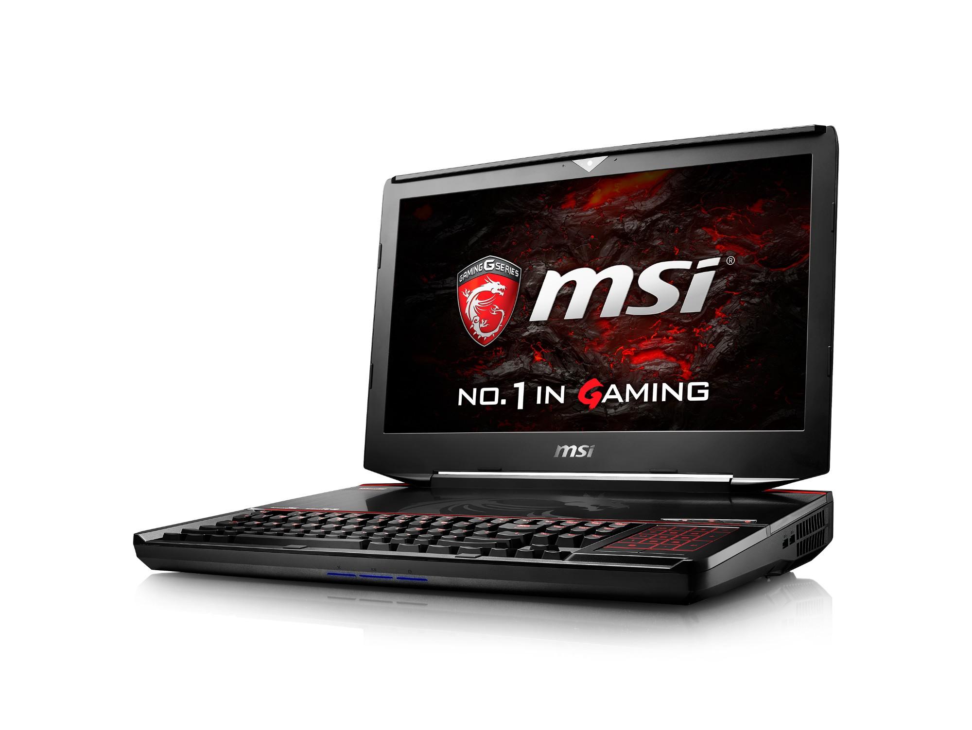 """MSI Gaming GT83VR 6RE(Titan SLI)-013UK 2.7GHz i7-6820HK 18.4"""" 1920 x 1080pixels Black Notebook"""