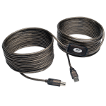 Tripp Lite USB 2.0 Hi-Speed A/B Active Repeater Cable (M/M), 10.97 m (36-ft.) USB cable
