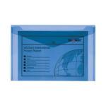 Snopake PolyFile - A4+(Foolscap) Electra Blue