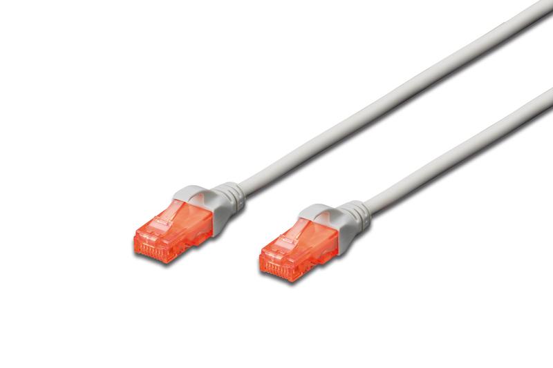 Digitus DK-1617-020 cable de red 2 m Cat6 U/UTP (UTP) Gris