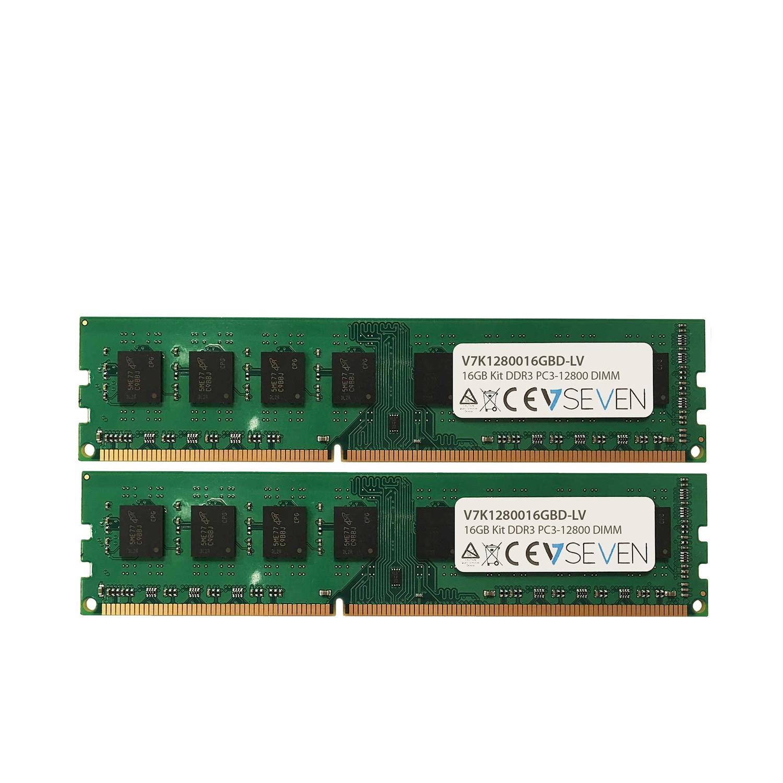 V7 16GB DDR3 PC3L-12800 - 1600MHz DIMM módulo de memoria - V7K1280016GBD-LV