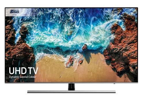 "Samsung Series 8 UE75NU8000TXXU LED TV 190.5 cm (75"") 4K Ultra HD Smart TV Wi-Fi Black, Silver"
