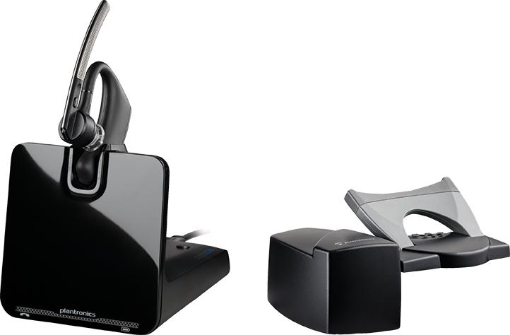 Plantronics Voyager Legend CS + HL10 Monaural Ear-hook Black headset