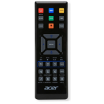 Acer E25 IR Wireless Press buttons Black remote control
