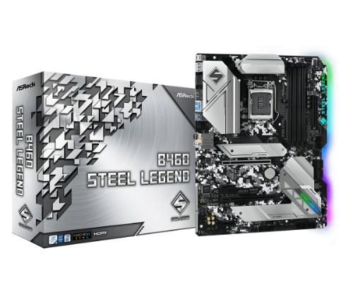 Asrock B460 Steel Legend Intel B460 LGA 1200 ATX
