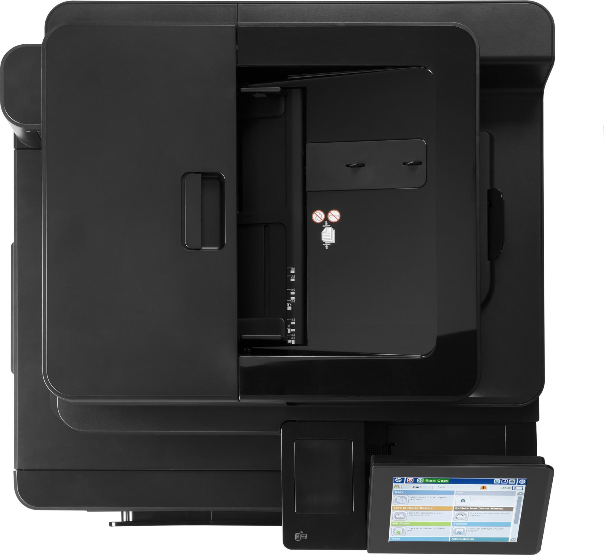 HP LaserJet Enterprise flow M880z Laser 46 ppm 1200 x 1200 DPI A3