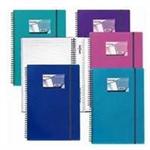 "Snopake NoteGuard HardBack - Electra, 3x5"" 60 page personal organizer Polypropylene (PP)"