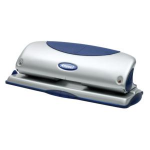 Rexel Precision 425 4 Hole Punch Silver/Blue