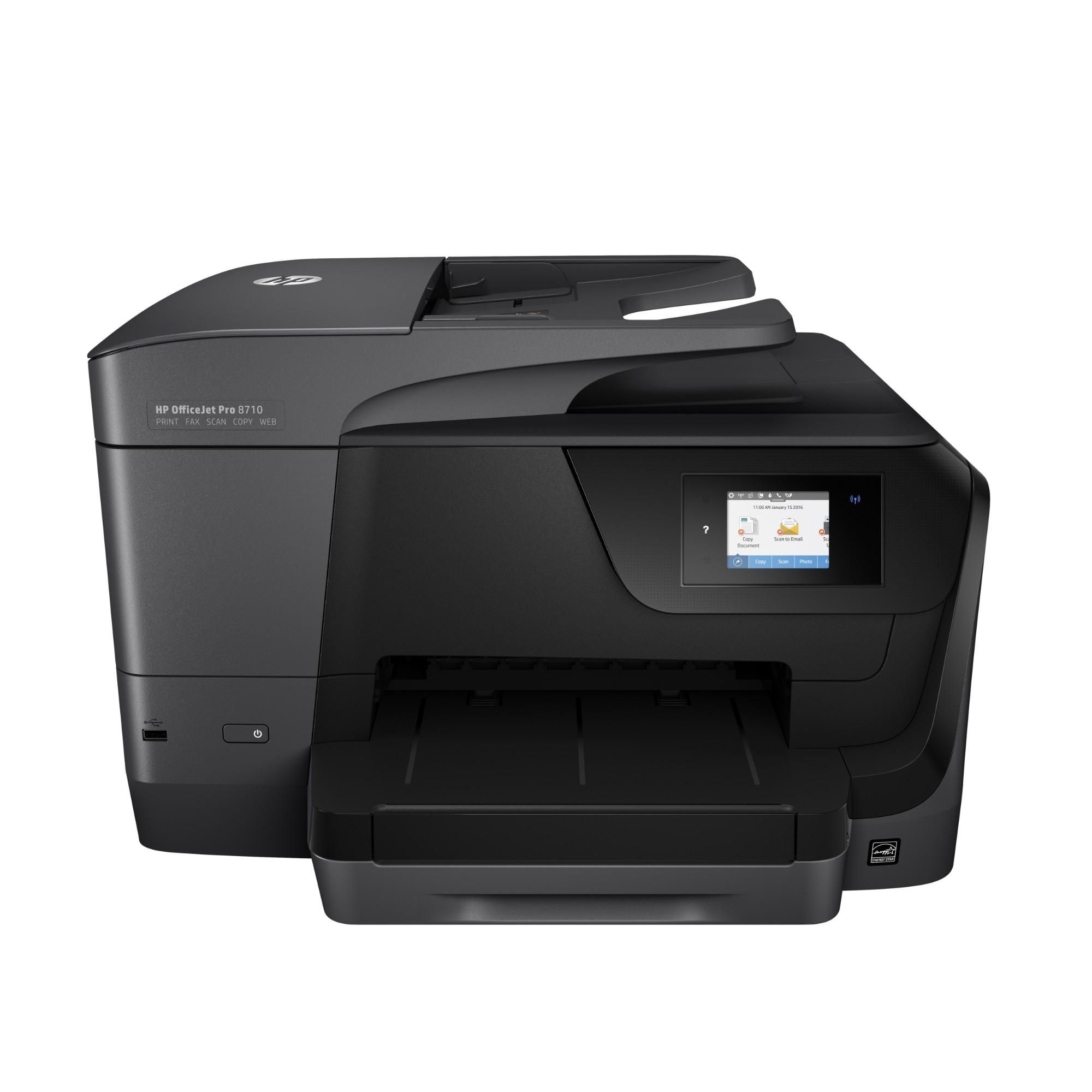HP OfficeJet Pro 8718 4800 x 1200DPI Thermal Inkjet A4 22ppm Wi-Fi