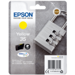 Epson C13T35844010 (35) Ink cartridge yellow, 650 pages, 9ml