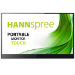 """Hannspree HT 161 CGB touch screen monitor 39.6 cm (15.6"""") 1920 x 1080 pixels Black,Silver Multi-touch"""