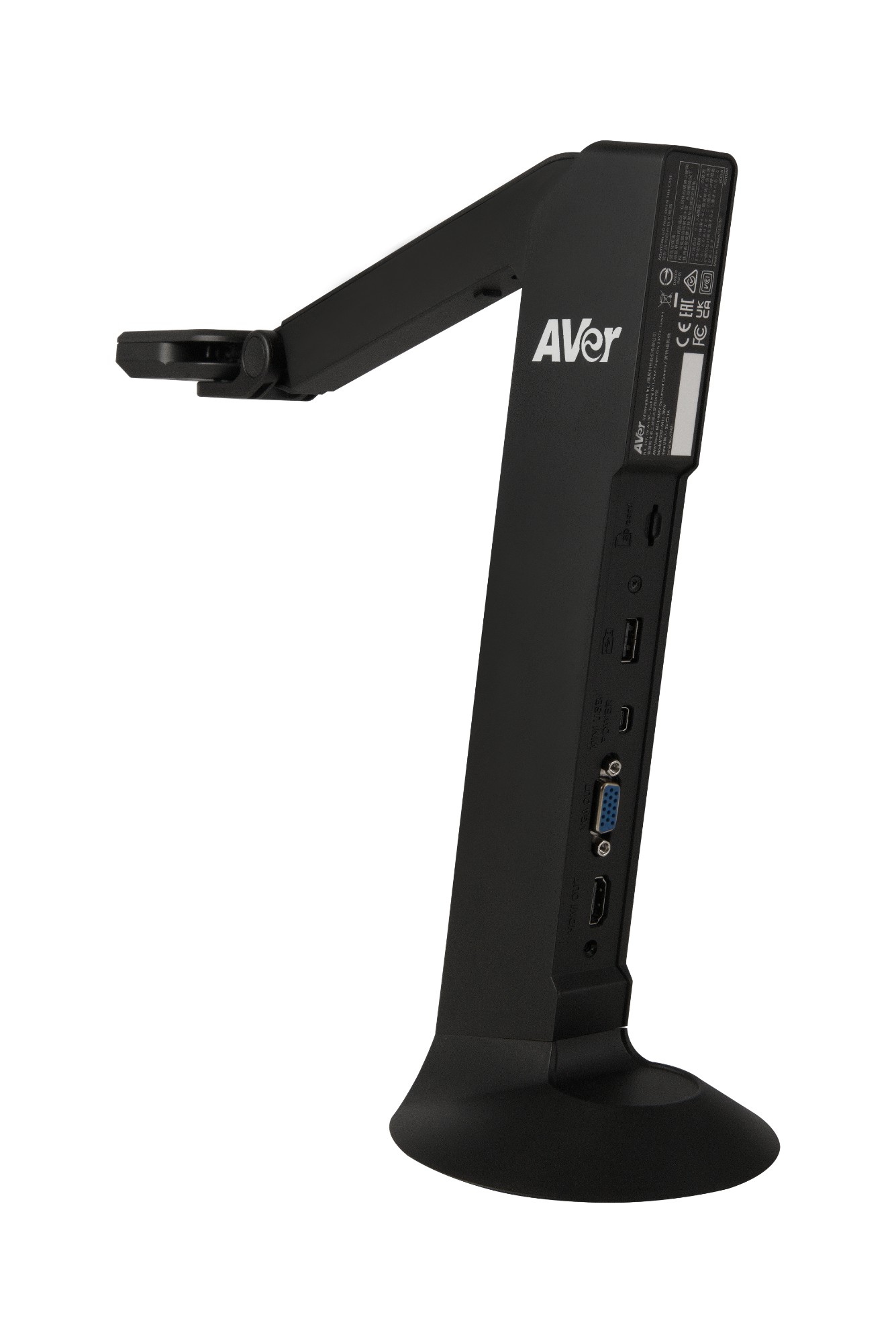 "AVer M11-8MV document camera Black 25.4 / 3.06 mm (1 / 3.06"") CMOS USB 2.0"
