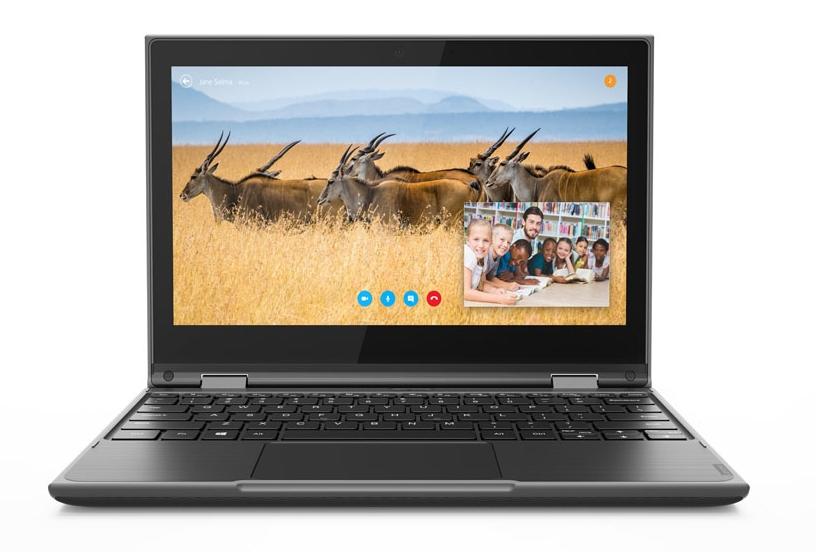300e Windows 2nd Gen - 11.6in - Celeron N4100 - 4GB Ram - 64GB eMMC - Win10 Pro - Qwerty UK (81M9000YUK)