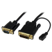 StarTech.com 3 ft DVI to VGA Active Converter Cable – DVI-D to VGA Adapter – 1920x1200
