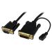 StarTech.com Cable de 91 centímetros Conversor Activo de Vídeo DVI a VGA - Adaptador DVI-D a VGA con Cable