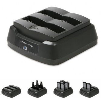 Technology Solutions UK 4-SLOT EASYPACK BATTERY CHARGER