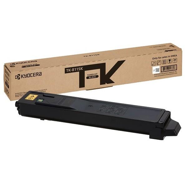 KYOCERA TK-8115K Original Negro 1 pieza(s)