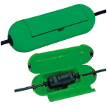 Brennenstuhl 1160400 cable protector Green