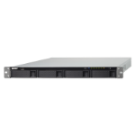 QNAP TS-463XU Ethernet LAN Rack (1U) Black NAS