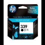 HP 339 Original Zwart 1 stuk(s)