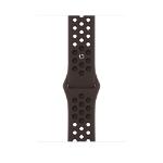 Apple MJ6M3ZM/A smartwatch accessory Band Schwarz, Braun Fluor-Elastomer