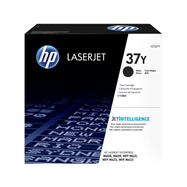 Toner Cartridge - No 37Y - Extra High Yield - 41k Pages - Black